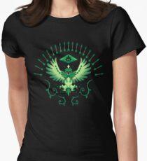 Grass Arrow Strike Women's Fitted T-Shirt