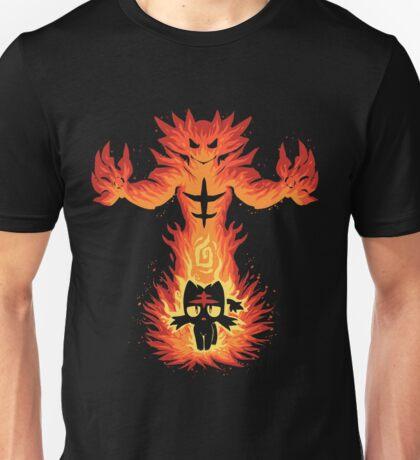 Inner Fire cat Unisex T-Shirt