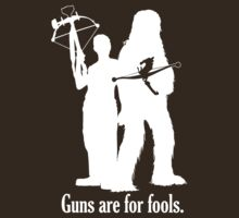 Guns are for fools. | Unisex T-Shirt