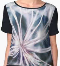 Macro Abstract. Garden Alien Women's Chiffon Top