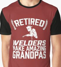 Retired Welders Make Amazing Grandpas Graphic T-Shirt
