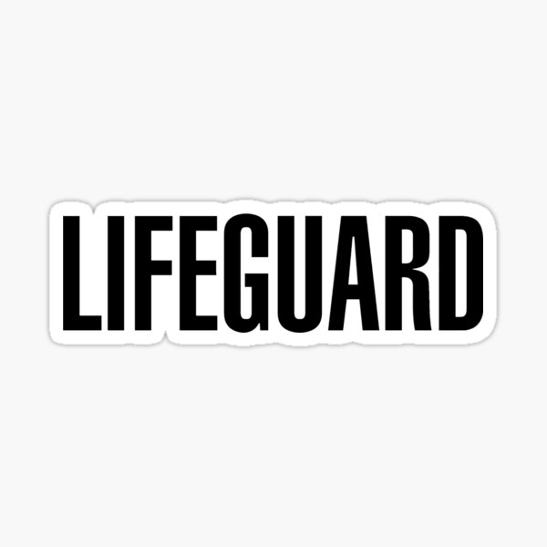 LIFEGUARD -  Sticker
