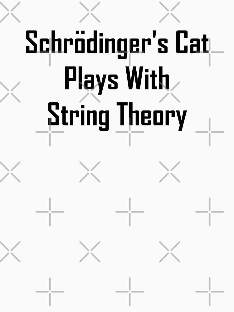Schrodinger's Cat Plays With String Theory by geeknirvana