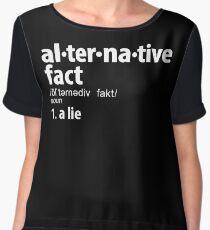Alternative Facts Definition Women's Chiffon Top
