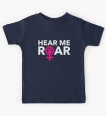 Hear ME ROAR Kids Tee