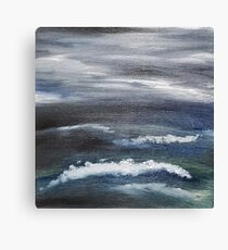 Angry Sea Canvas Print