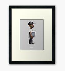 "J. Dilla - ""MPC Action Figure"" Artwork Framed Print"