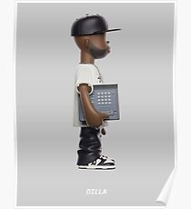 "J. Dilla - ""MPC Action Figure"" Artwork Poster"