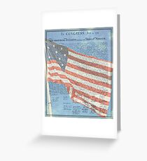 Declaration of Independence & Star-Spangled Banner Greeting Card