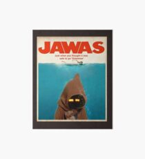 Jawas : Inspired by Star Wars & Jaws Art Board