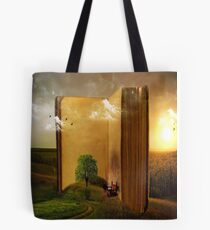A Quite Place To Read Tote Bag