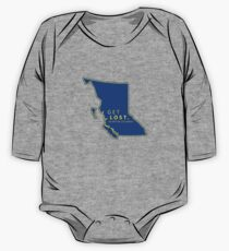 Get Lost in British Columbia One Piece - Long Sleeve