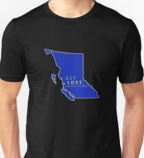 Get Lost in British Columbia Unisex T-Shirt
