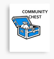 Community Chest Canvas Print