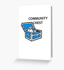 Community Chest Greeting Card