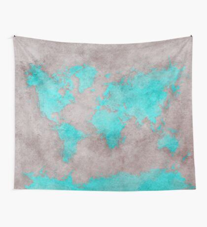 world map 39 Wall Tapestry
