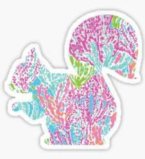 Lilly Squirrel Sticker