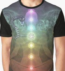 Meditation Abstract Spiritualism Yoga Concept Graphic T-Shirt