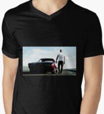fast 8 Men's V-Neck T-Shirt