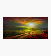 Country Sunset Photographic Print