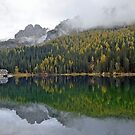 Lake Misurina - Italy by Arie Koene