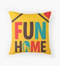 Fun Home - A New Broadway Musical  Throw Pillow