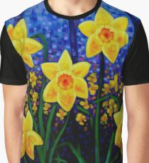 Daffodil Cluster Graphic T-Shirt