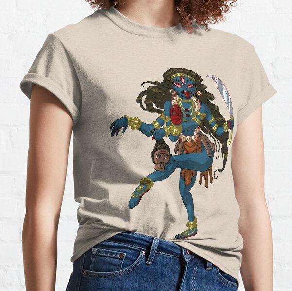 Kali Hindu Goddess of Destruction MONSTER GIRLS Series I Classic T-Shirt
