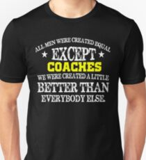 Coaches are the Best Great Gift for Sports Coaches and trainers T-Shirt