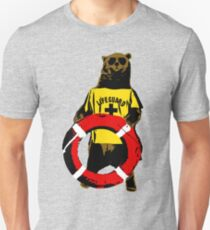 Grizzly lifeguard Unisex T-Shirt