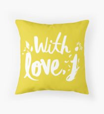 LOVE WITH J - JESSICA Throw Pillow