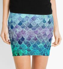 MAGIC MERMAID RAINBOW Mini Skirt