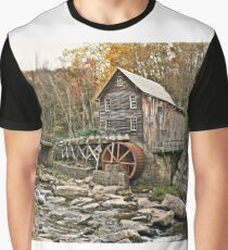 A Wheel In The Woods  Graphic T-Shirt