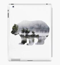 Misty Waterscape Bear iPad Case/Skin