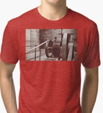 Machinery. Tri-blend T-Shirt