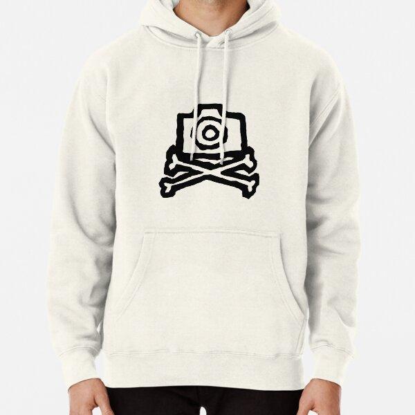 Camera and crossbones Pullover Hoodie