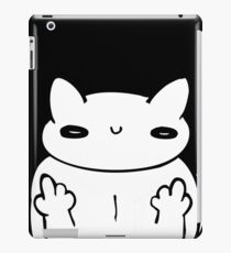 witty kitty iPad Case/Skin