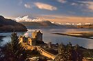 Eilean Donan Castle and the Isle of Skye, Winter. Highland Scotland. by PhotosEcosse