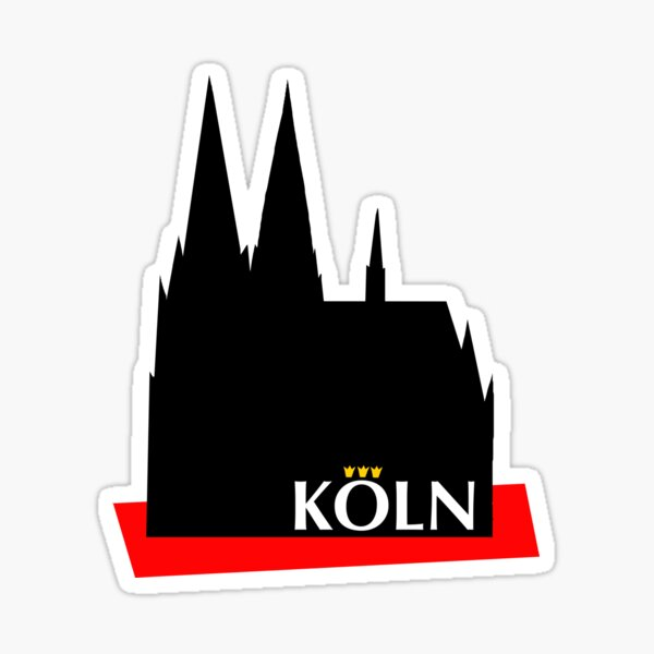 Cologne Cathedral Sticker