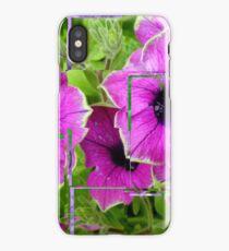 Petunia Collage iPhone Case/Skin