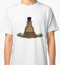 Groundhog day - Cartoon style Classic T-Shirt