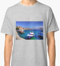 Chalki Fishing Boats Classic T-Shirt