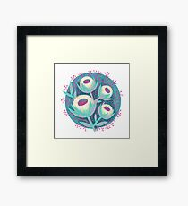 Sugar Cookie Blossoms Framed Print