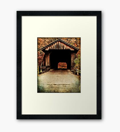 When Life Was Slow Framed Print