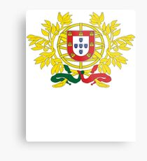 Portugal National Deluxe Game Design Metal Print