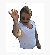 9GAG - SALT BAE CARTOON Photographic Print