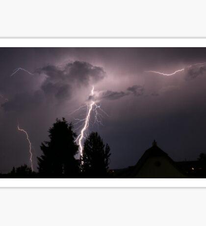 Lightning Sticker