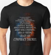 Conspiracy Theory Design Unisex T-Shirt