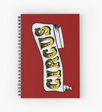 Circus Ribbon Spiral Notebook
