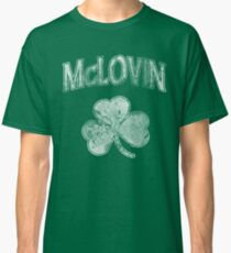 McLovin Irish Shamrock Classic T-Shirt